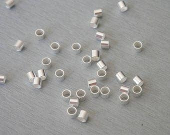 tube bead right Silver 925