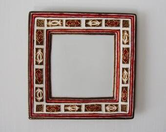 flat plate dessert or empty Pocket porcelainbe turtle motif hand painted