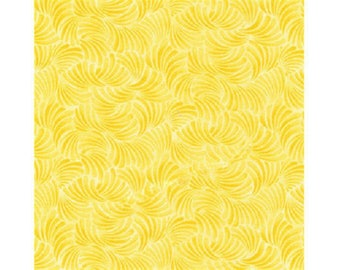 plain yellow faux patchwork fabric
