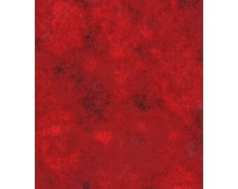 deep red plain faux patchwork 112/254318 fabric