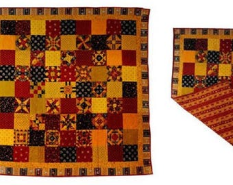 decorative Panel, plaid, patchwork provence