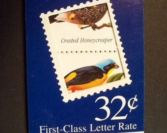 U.S  Booklet OF 15, Scott# BK272 Tropical Birds, 1998 MNH* Unopened