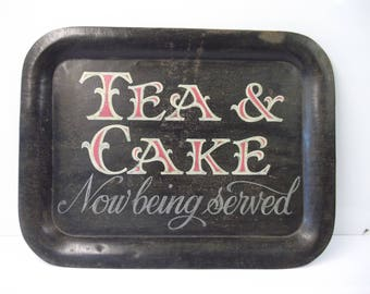 Tea & Cake tray for home or cafes