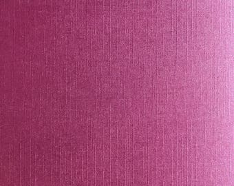 A5 thick paper deco textured effect woven Pearl scrapbooking - Fuchsia