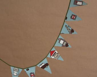 Bunting and garage