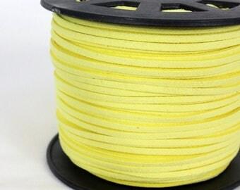 Cord 3 mm light yellow x 5 meters