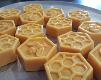 Honey and goats milk soaps