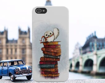 Harry Potter Hedwig Owl Hard Plastic Phone Case Cover For iPhone And Samsung Models