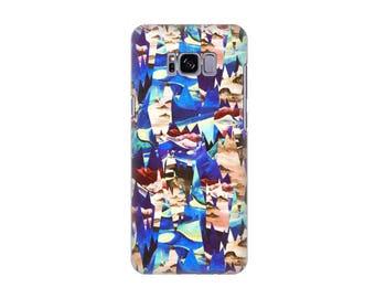 Case Samsung S3, S4, S5, S6, S7, S8, A3, A5, A7, J3, Desert Landscape BLUE