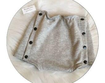 Baby Bloomer panties button snaps