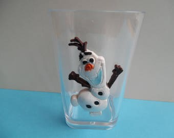Pencil holder / Cup made olaf frozen plexy