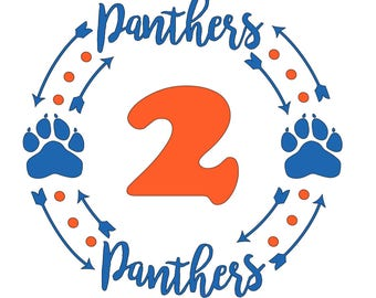 Panther Paw Circle *Local Only