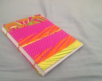 A6 notebook by Coptic binding