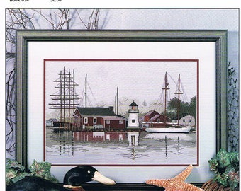Misty Harbor Cross Stitch (graph only)