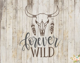 Forever Wild Decal