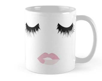 Eyelash Lip Mug