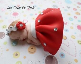 baby girl dress and backless fimo.