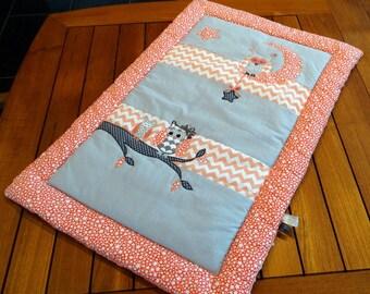 Blanket 60 x 90 cm soft owls theme