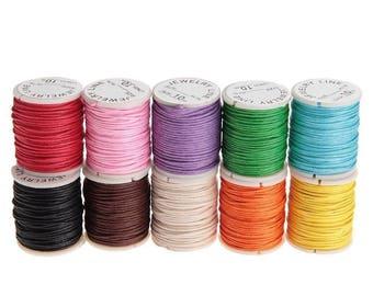 Rope wax cords Bracelet jewelry DIY crafts make 10pcs