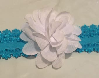 Soft petals flower headbands for babies.