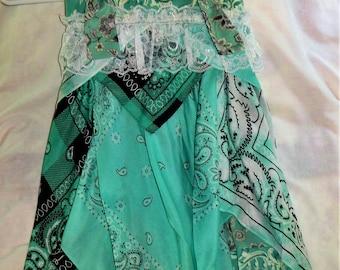 girls bandanna dress
