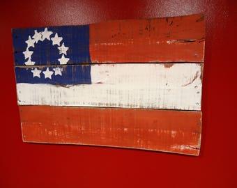 Circle Star Flag