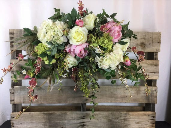Rose Arbor Swag Wedding Flowers Decorations