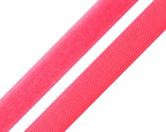 1 m Velcro pink neon width 20 mm