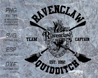 Ravenclaw Quidditch Hogwarts home  Harry Potter Quote ,SVG,Clipart,esp,dxf,png 300 dpi