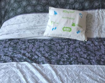 Personalized pillow cover souvenir of birth