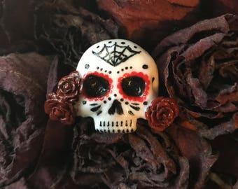 Sugar Skull Pin