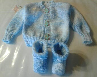Vest for baby up to 3 months