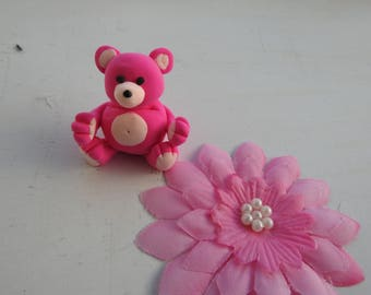 Teddy bear (polymer clay), miniature teddy bears as decoration and to collect, fimo