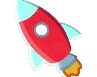 Rocket Magnet (4x4)