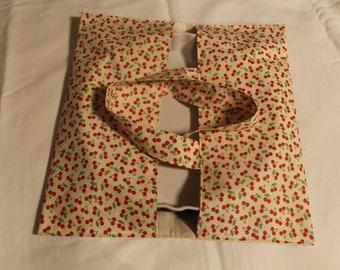 Pie zipper pouch bag