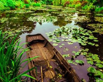 Monet's Japanese Garden, Giverny France