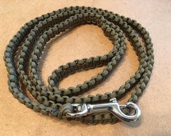 Paracord Dog Leash, Dog Leash, P Cord Dog Leash, Custom Dog Leash