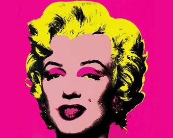 SEMI-rigid PLACEMAT, ORIGINAL design, WASHABLE and durable - Andy warhol, Marilyn.