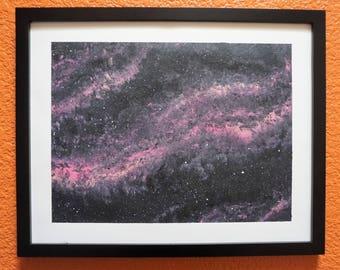 Original Framed Abstract Art 11X14