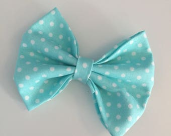 """The """"Kimber"""" Bowtie // Dog Bow Tie // Polka Dot Bow Tie // Cat Bow Tie // Made to Order"""
