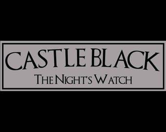 Game of Thrones, Castle Black, The Night's Watch Sign