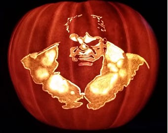 Incredible Hulk, pumpkin, Halloween