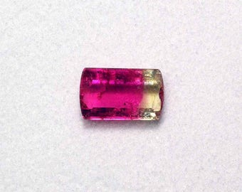 Bicolor TOURMALINE from Brazil for creation of contemporary, minimalist jewelry