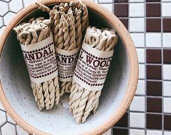 Nepali Rope Incense- Sandalwood