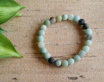 Stretch beaded bracelet, boho bracelet, Blue Bracelet, Southwest Bracelet,