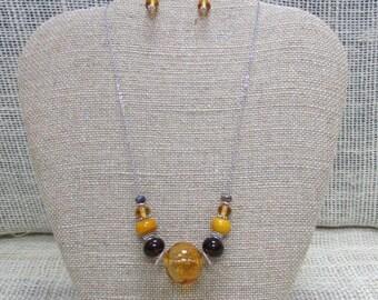 Amber Bubble & Beads