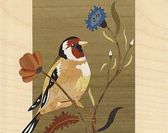 goldfinch and margueritte inlay