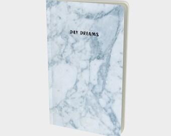 Day Dreams Marble Notebook / Sketchbook / Journal by Midnight & Vine