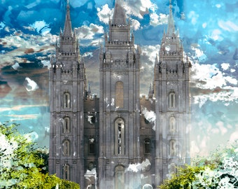 Choice of 8x10 LDS Temple Art Prints