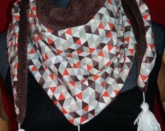 Adult reversible scarf